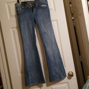 Hydraulic size 11/12 flare jeans.